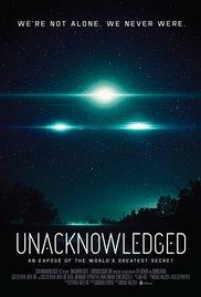 poster Unacknowledged (2017)