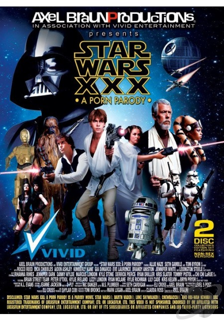 poster Star Wars XXX: A Porn Parody (Video 2012)