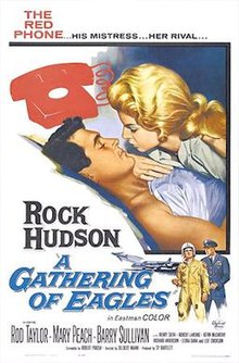 poster A Gathering Of Eagles (1963)