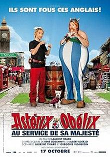 poster Asterix et Obelix Au service de Sa Majeste (2012)