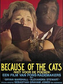 poster Because Of The Cats (1973)