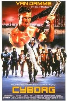 poster Cyborg (1989)