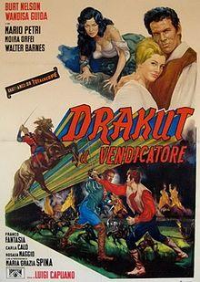 poster Drakut il vendicatore (1961)