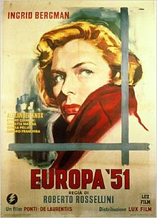 poster Europe '51 (1952)