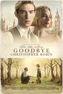 poster Goodbye Christopher Robin (2017)
