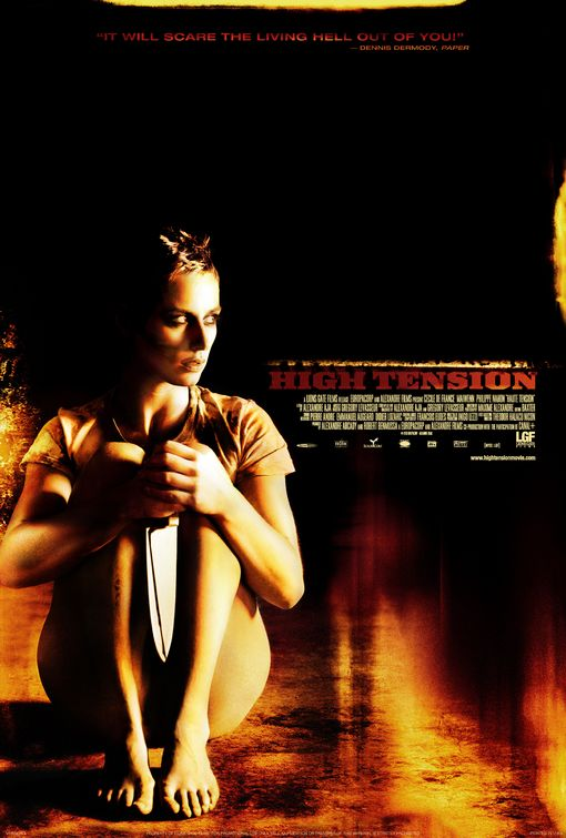 poster Haute tension - High Tension (2003)