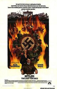 poster Hitler The Last Ten Days (1973)