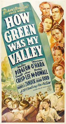 poster How Green Was My Valley (1941)
