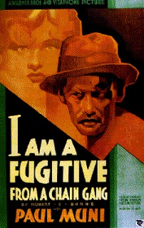 poster I Am a Fugitive from a Chain Gang (1932)