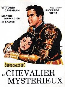 poster Il Cavaliere Misterioso (1948)