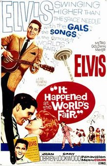 poster It Happened at the Worlds Fair (1963)