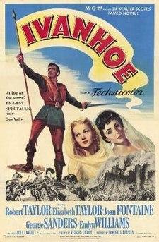 poster Ivanhoe (1952)