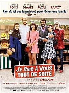 poster Je suis a vous tout de suite (2015)