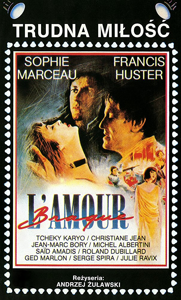 poster L'amour braque (1985)