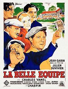 poster La Belle Equipe (1936)