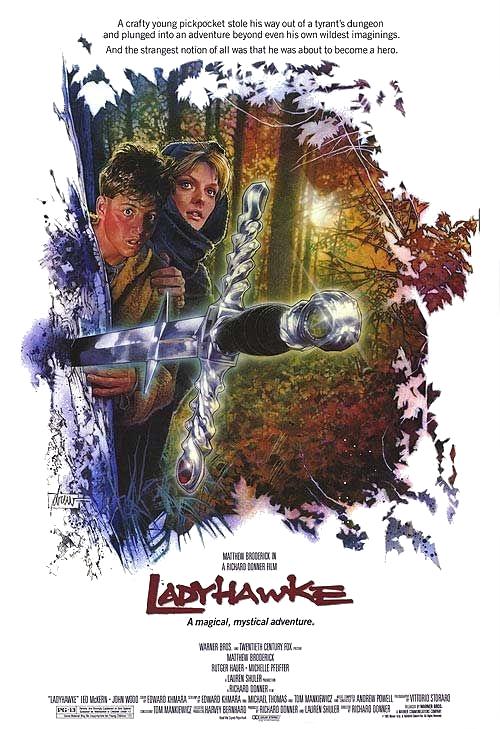 poster Ladyhawke (1985)