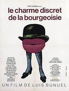 poster Le charme discret de la bourgeoisie (1972)