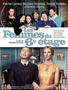poster Les femmes du 6eme etage (2010)