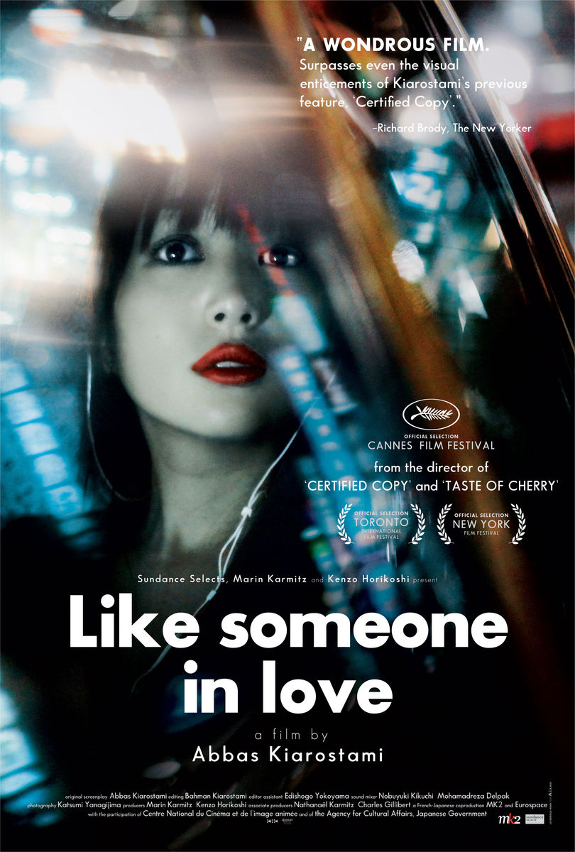 poster Like Someone in Love (2012)