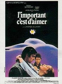 poster L'important c'est d'aimer (1975)