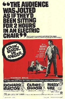 poster Look Back in Anger (1958)