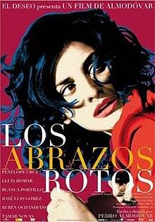 poster Los abrazos rotos (2009)
