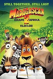 poster Madagascar Escape 2 Africa (2008)