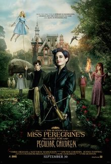 poster Miss Peregrines Home for Peculiar Children (2016)