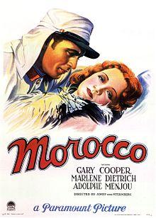 poster Morocco (1930)