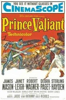 poster Prince Valiant (1954)