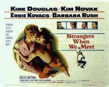 poster Strangers When We Meet (1960)