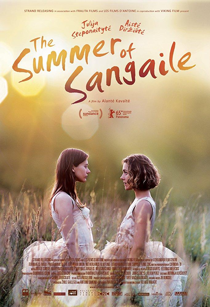poster Summer of Sangaile - Sangailes vasara (2015)