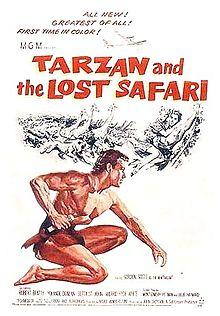 poster Tarzan and the Lost Safari (1957)