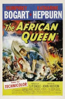 poster The African Queen (1951)