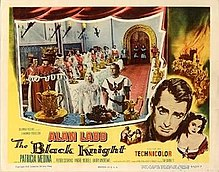 poster The Black Knight (1954)