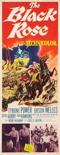 poster The Black Rose (1950)