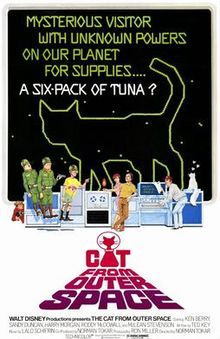 poster The Cat from Outer Space (1978)