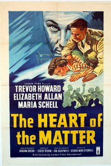 poster The Heart of the Matter (1953)