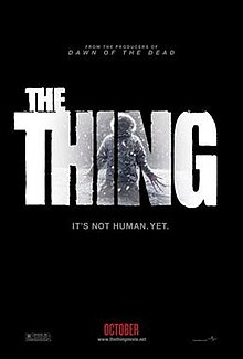 poster The Thing (2011)