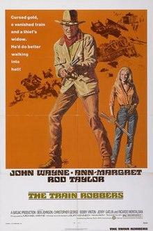 poster The Train Robbers (1973)