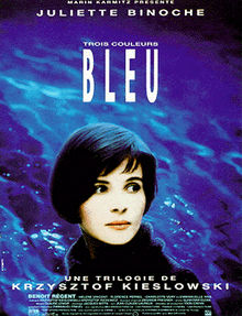 poster Three Colors Blue (1993)
