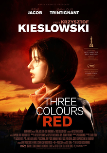 poster Three Colors Red (1994)