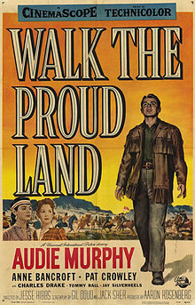 poster Walk the Proud Land (1956)