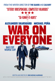 poster War on Everyone (2016)