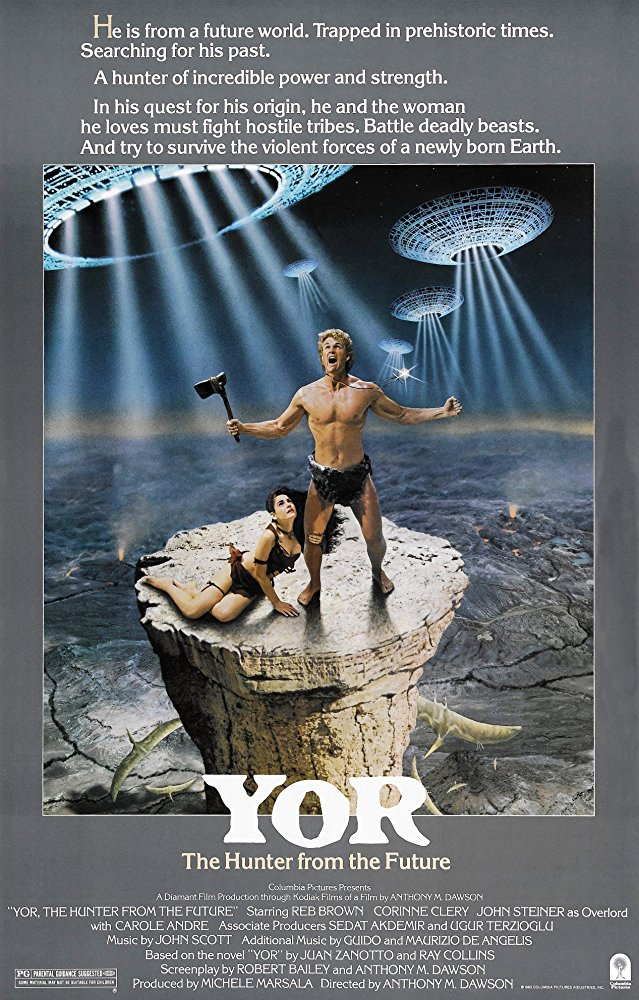 poster Yor the Hunter from the Future (1983)