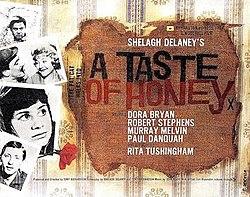 poster A Taste of Honey (1961)