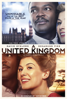 poster A United Kingdom (2016)