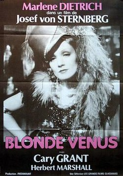 poster Blonde Venus (1932)