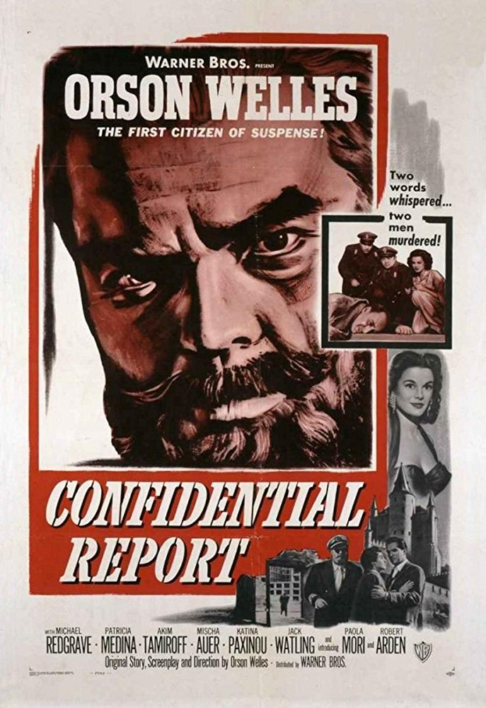 poster Confidential Report (1955)