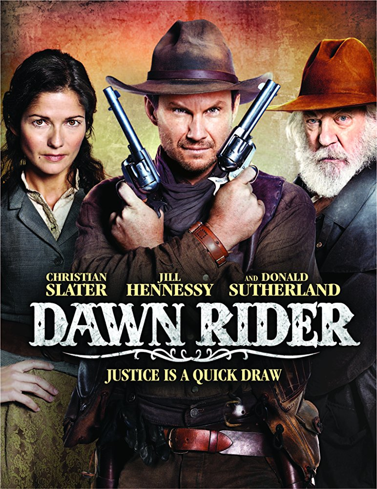 poster Dawn Rider (2012)